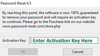 Windows Password Reset Activation Key Unlimited Use! 100% Money Back Guarantee