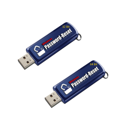 Password Reset 32 & 64 Bit USB Thumb-Drives + Lifetime Instant Download & Extra Tools - Windows Password Reset