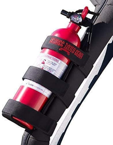 Badass Moto Adjustable Roll Bar Mounted Fire Extinguster Holder for Jeeps