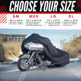Badass Moto Ultimate All Wx Waterproof Motorcycle Cover