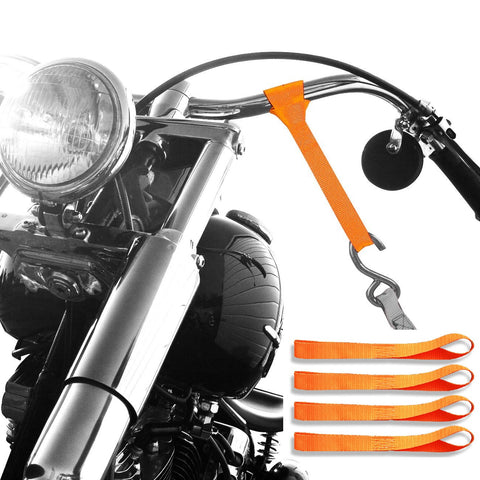 Ultimate Soft Loop Ties - Badass Moto Gear