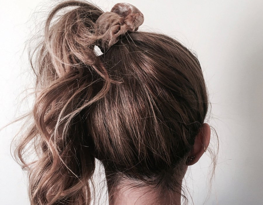 Why scrunchies are (back) in