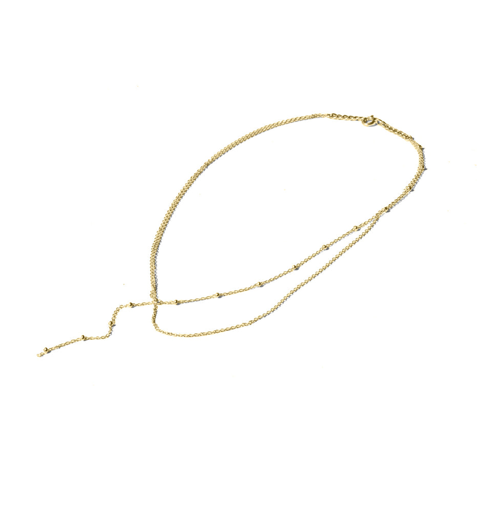 Anchored Necklace / Gold