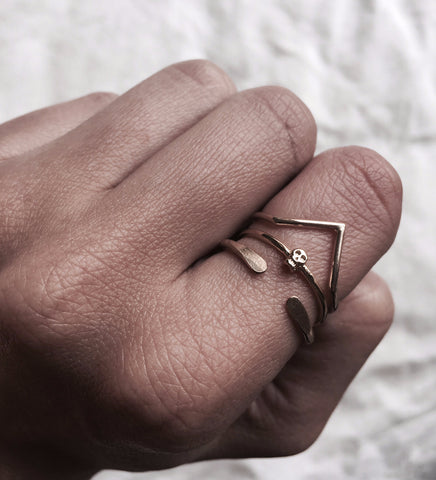 Dart Ring / Gold