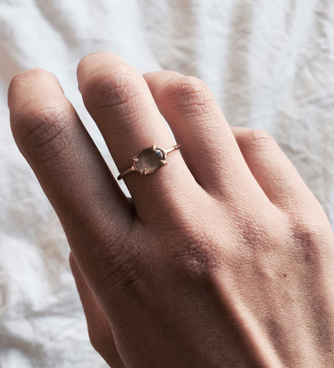 Classic Mood Ring / Rose Gold