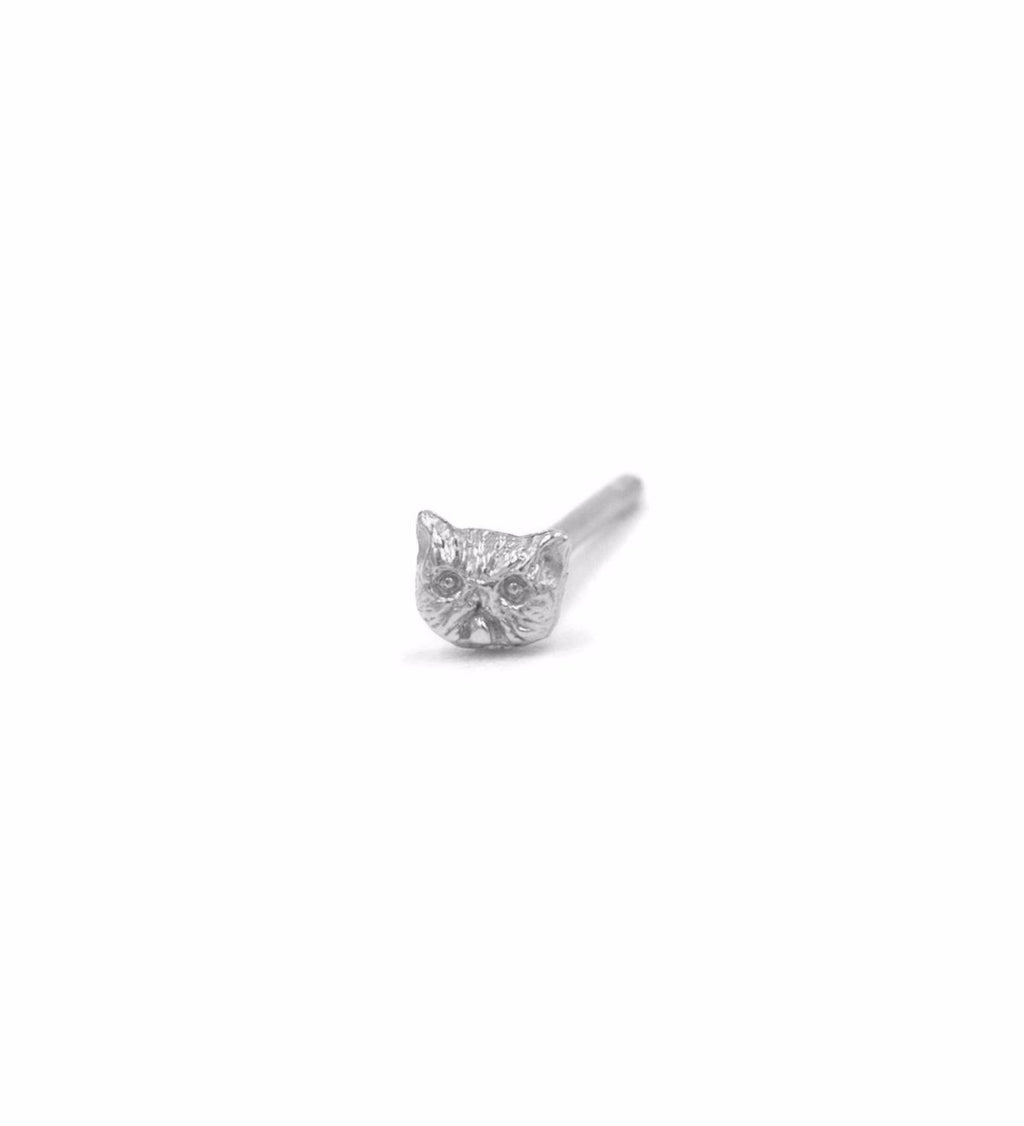 Itty Bitty Kitty Committee Stud / Silver
