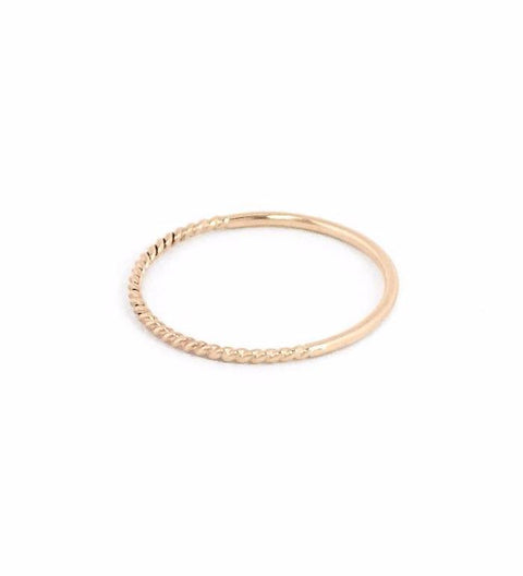 Twist Reversible Ring / Gold