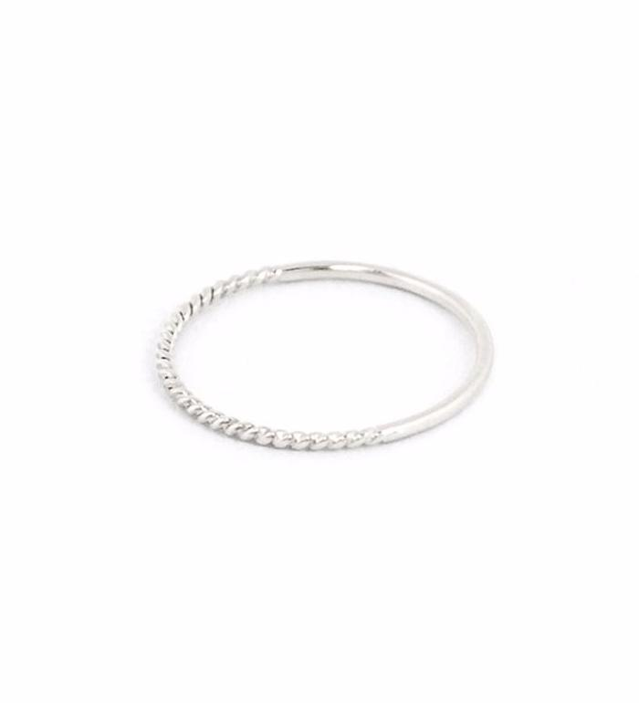 Twist Reversible Ring / Silver