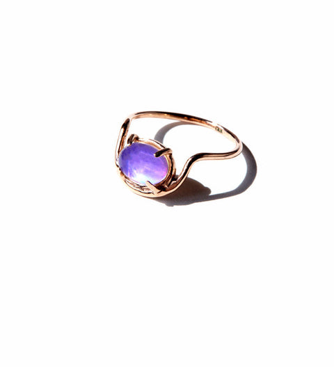 Arch Mood Ring / Silver