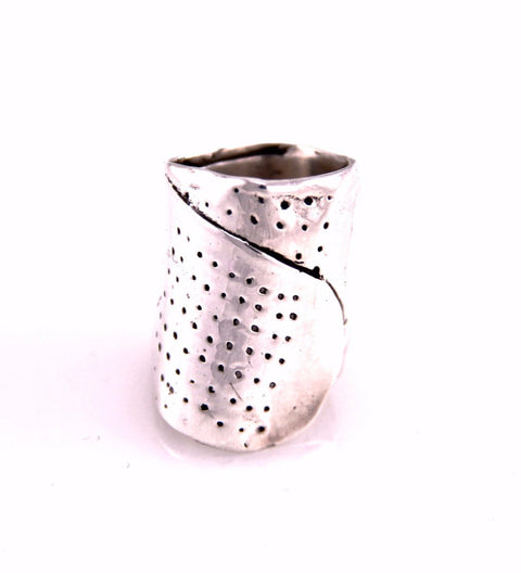 Bandaid Ring / Silver