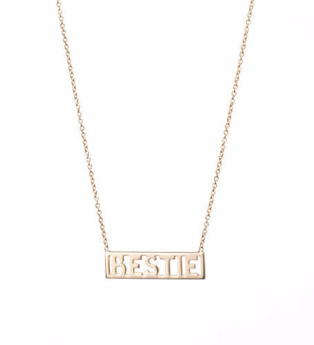 Bestie Necklace / Gold