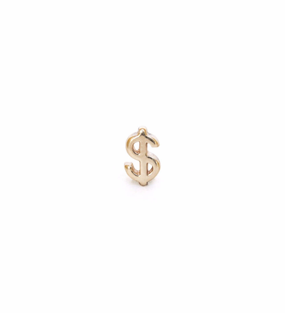 Dollar Earring / Gold