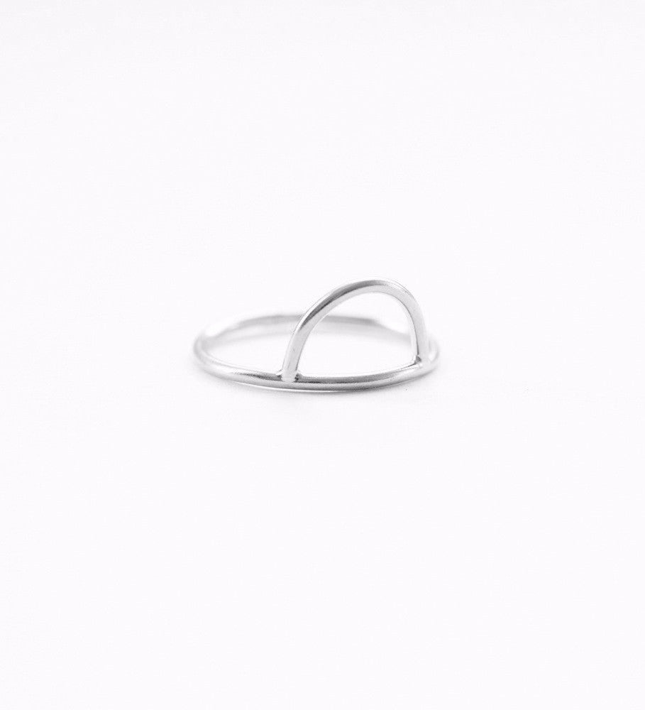 Curve Ring / Silver