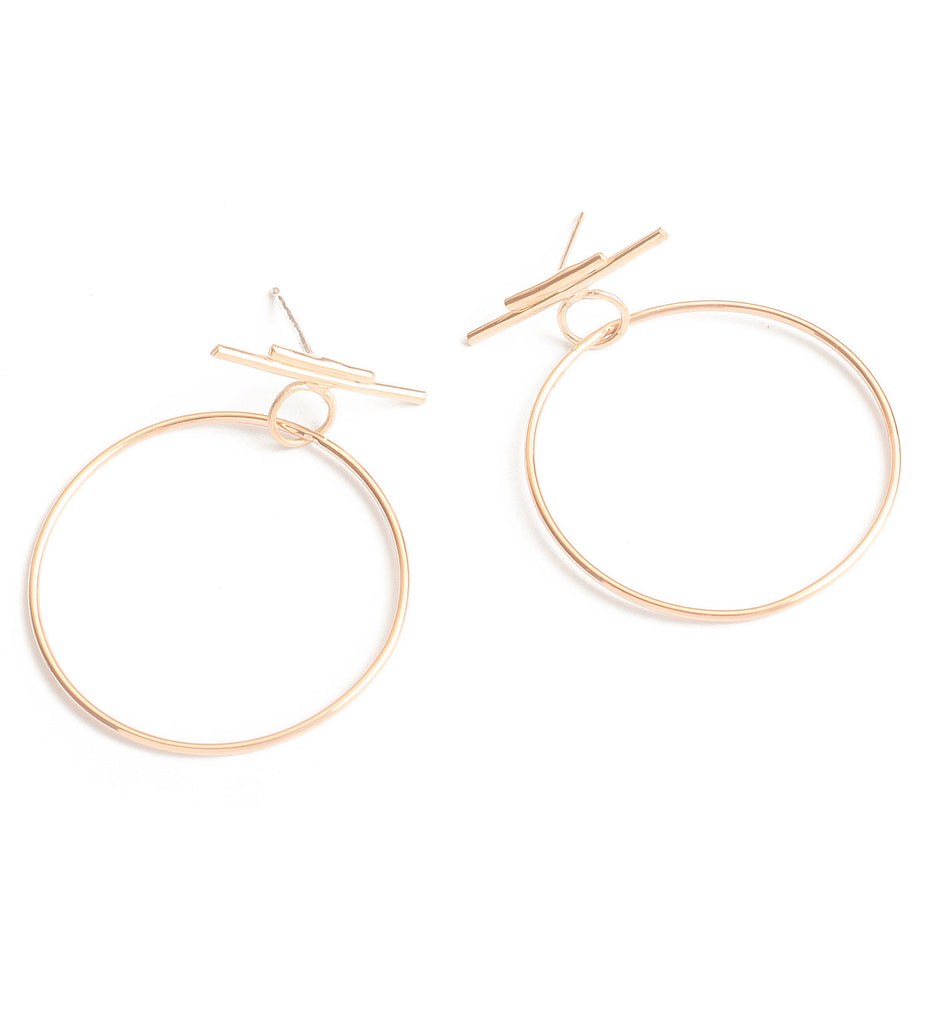 Leroux Hoops / Gold