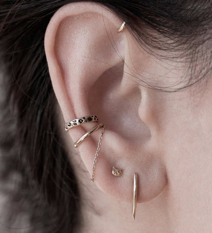 Xerxes Ear Cuff / Gold
