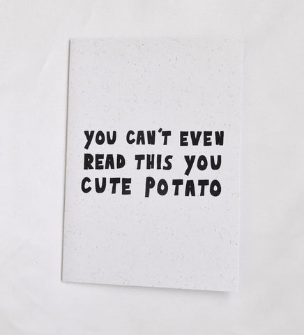 Cute Potato Card