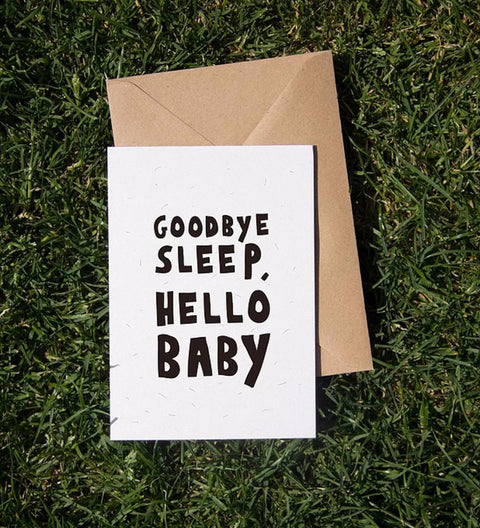 Goodbye Sleep Card