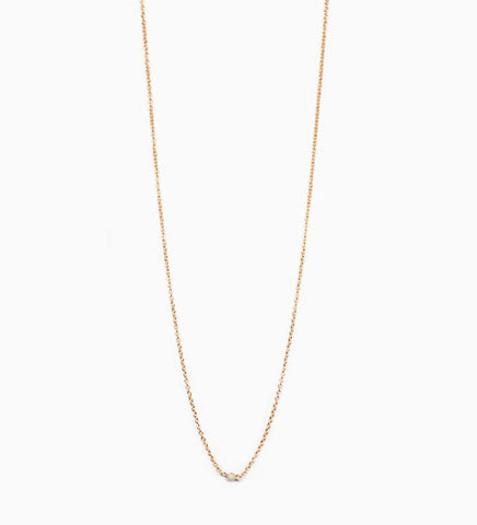 Diamond Chain Choker / Gold