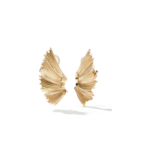 Eros Cuff Earrings / Gold