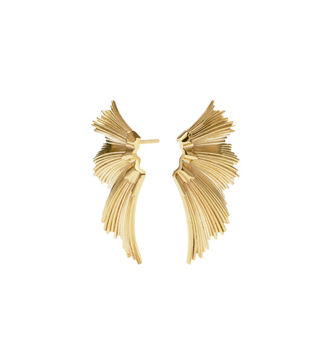 Eros Stud Earrings / Gold