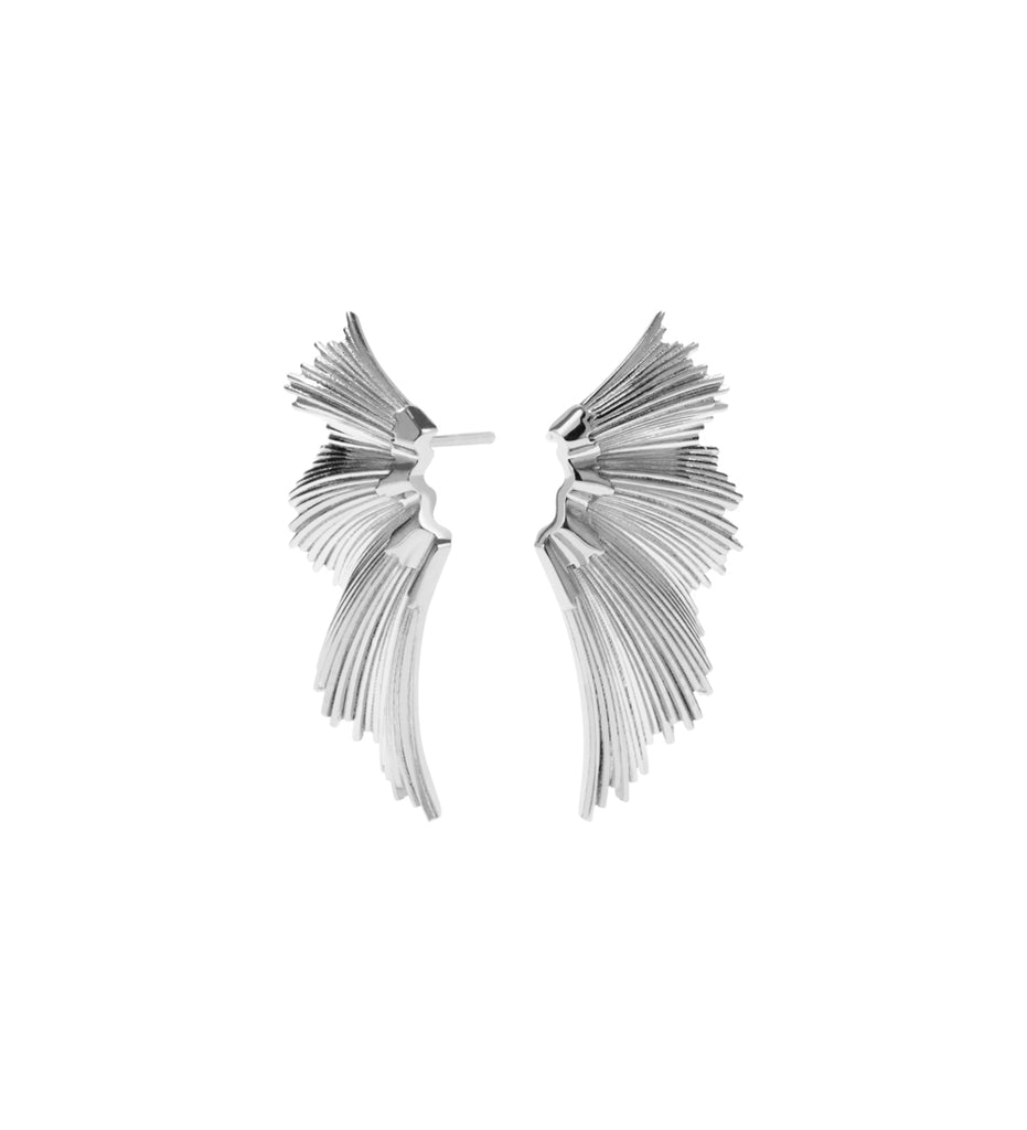 Eros Stud Earrings / Silver