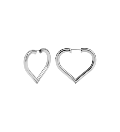 Love Hoops Medium / Silver