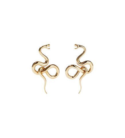 Medusa Earrings Medium / Gold