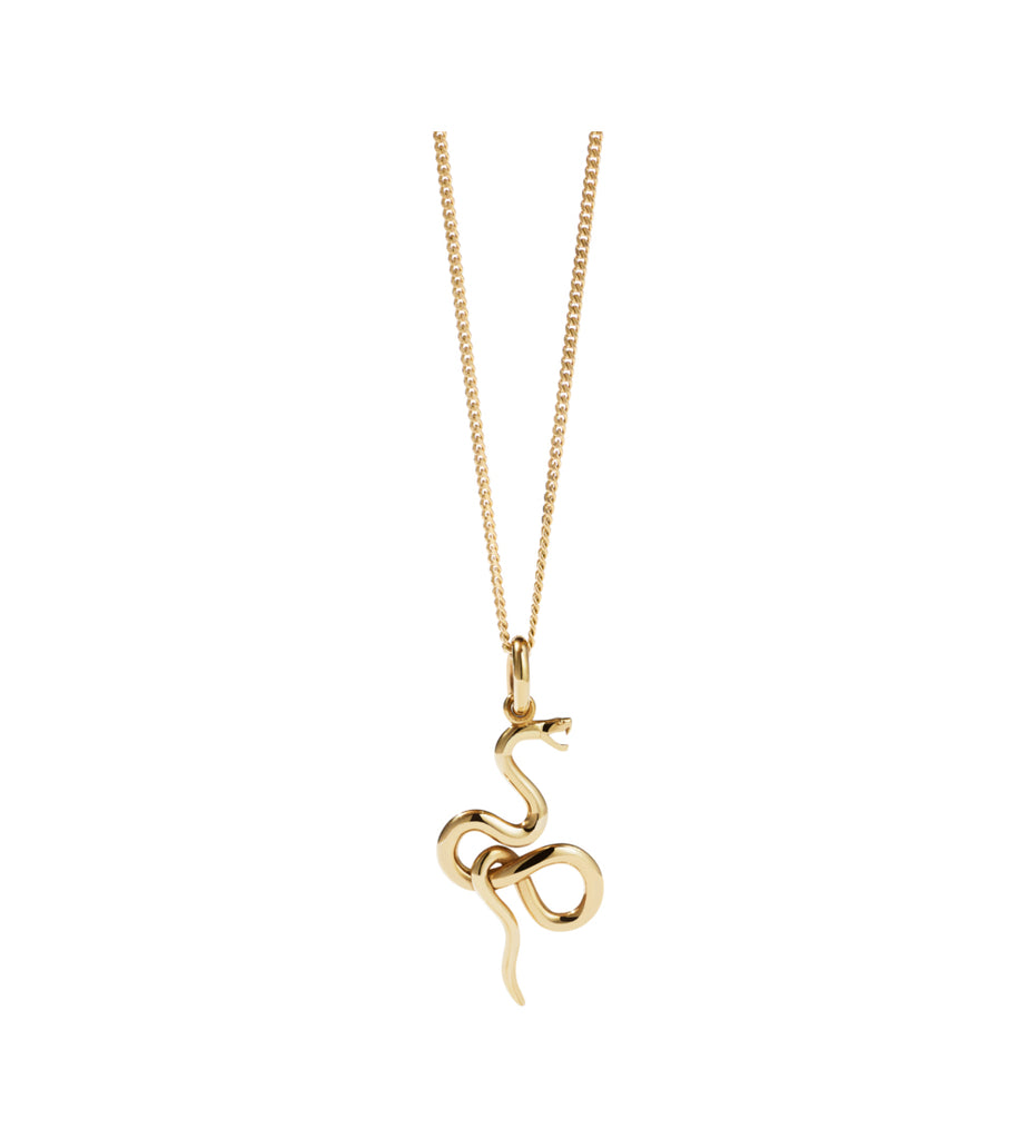 Medusa Necklace / Gold