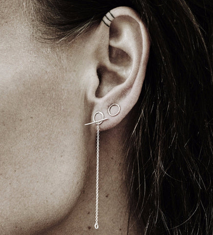 Little Loop Earring / Silver