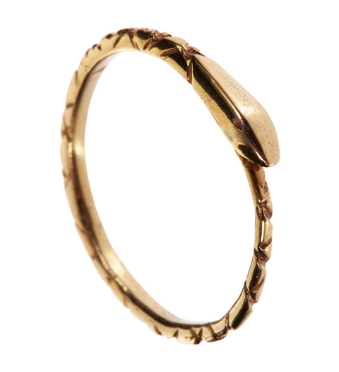 Ouroboros Ring / Gold