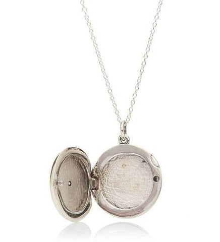 Maia Locket / Silver