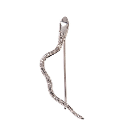 Serpent Ear Climber / Silver