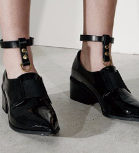 Leather Ankle Harness