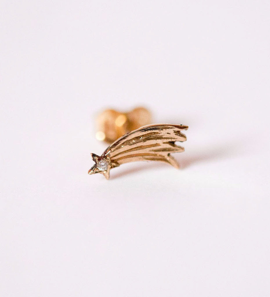 aa6d5e8d7fb2d Shooting Star Earring / Gold - The Armoury