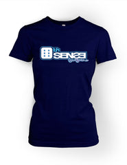 6th Sense Navyblue Women's Crewneck T-shirt