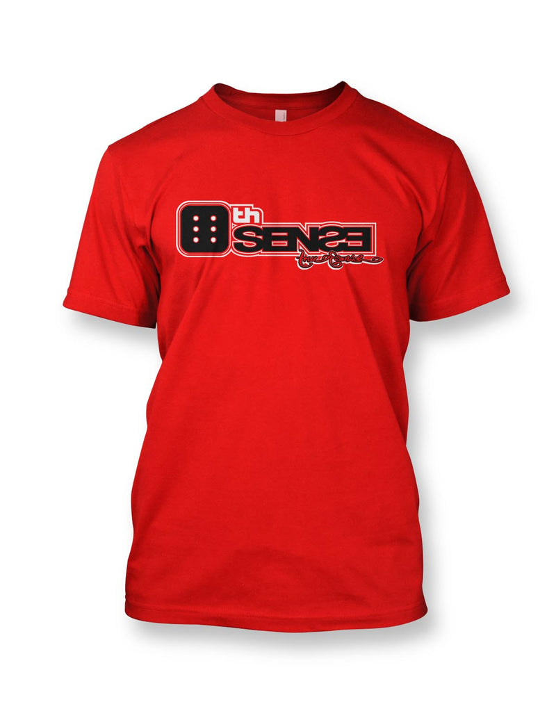 6th Sense Men's Tee Red