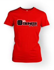 6th Sense Red Women's Crewneck T-shirt