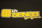 6th Sense Black Men's Crewneck T-shirt