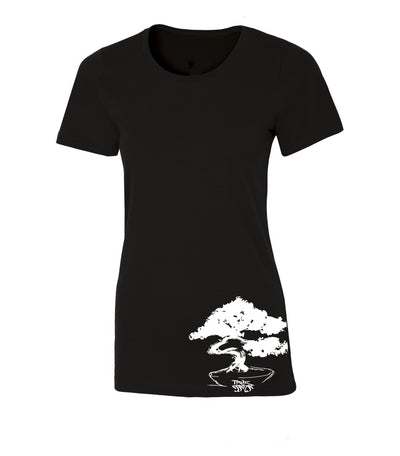 Bonsai Women's Black T-shirt