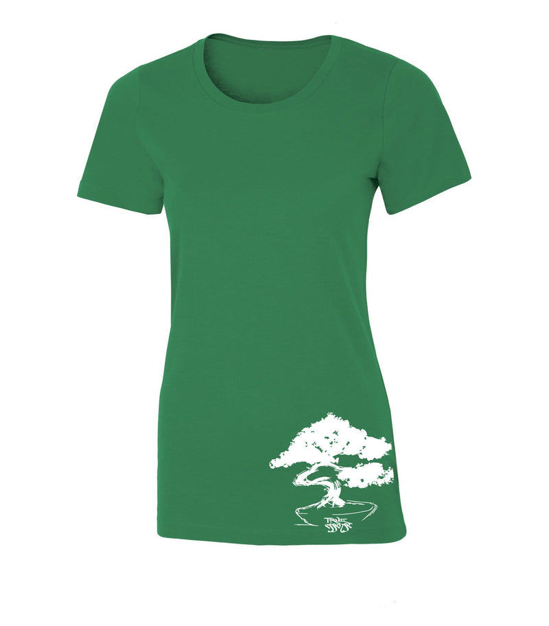 Bonsai Women's Green T-shirt