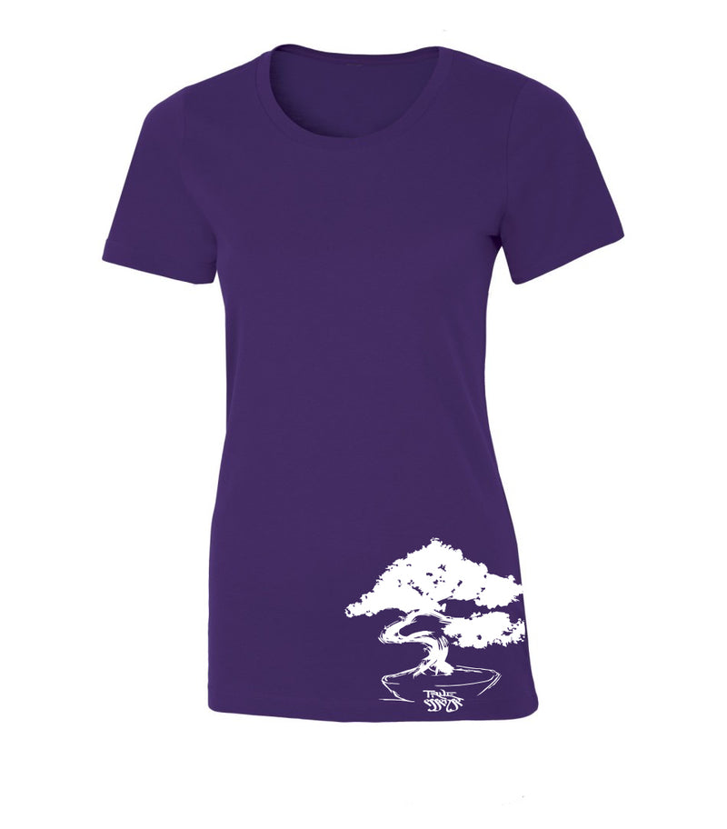 Bonsai Women's Purple T-shirt
