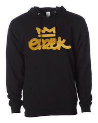 EMBK Gold Broadstroke Black Hoody