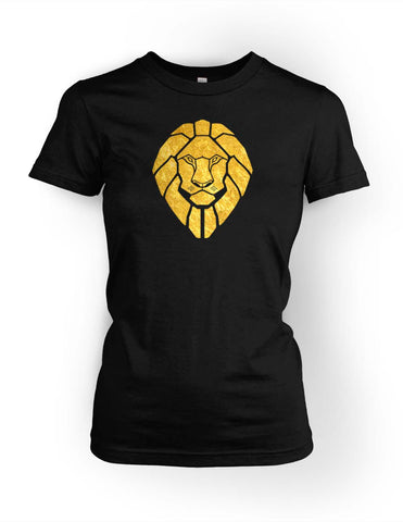 Golden Lionheart Women's Crewneck T-shirt