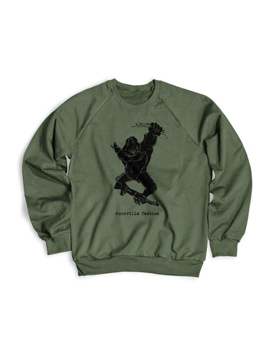 Guerrilla Tactics Crewneck Sweater