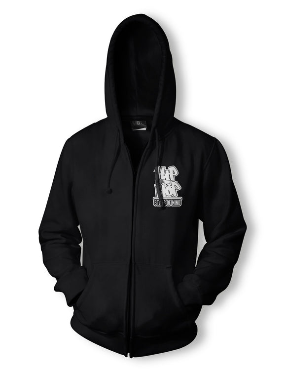 Hip Hop State of Mind Zipper Hoody