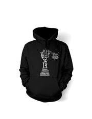 Think Chess Silver King Piece Hoody