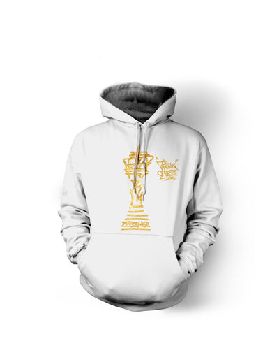 Think Chess Gold King Piece Hoody