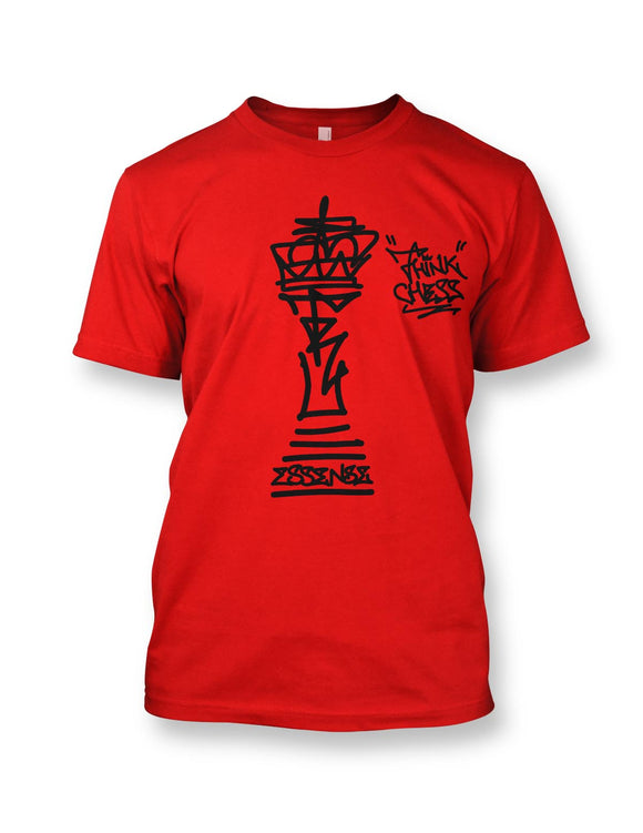 Think Chess King Piece T-Shirt