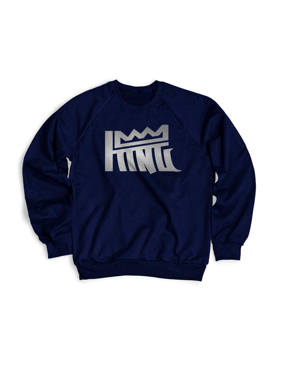 King Saw Silver Crewneck Sweater