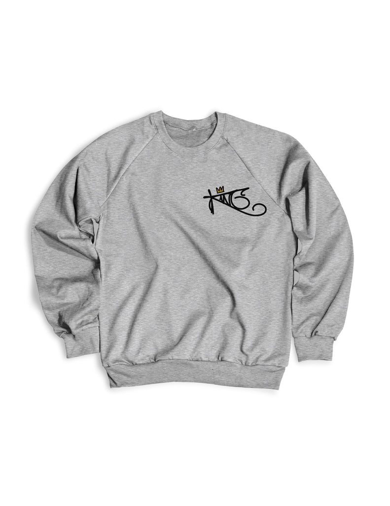 King Tag Sweater Chest Emblem